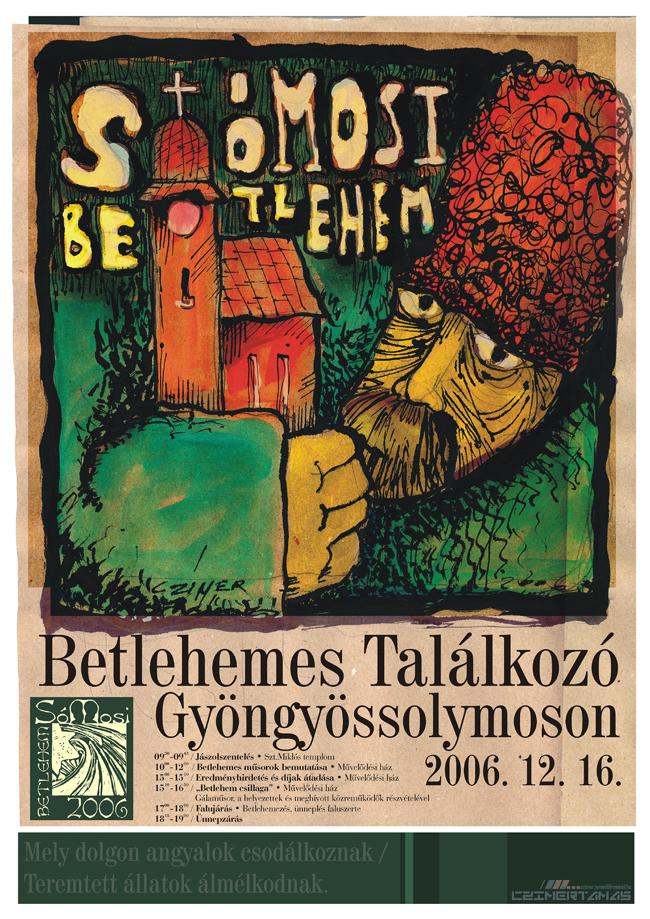 Betlehemes találkozó plakát